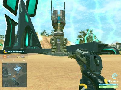 PlanetSide 2 - Indar NC Warpgate