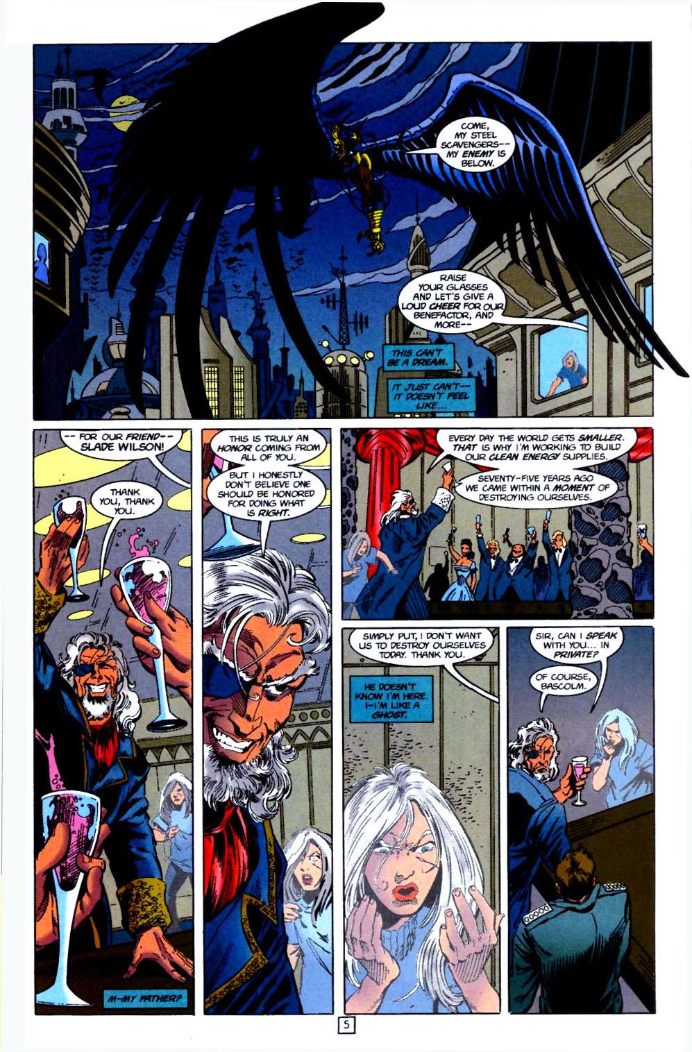 Deathstroke (1991) Issue #51 #56 - English 6
