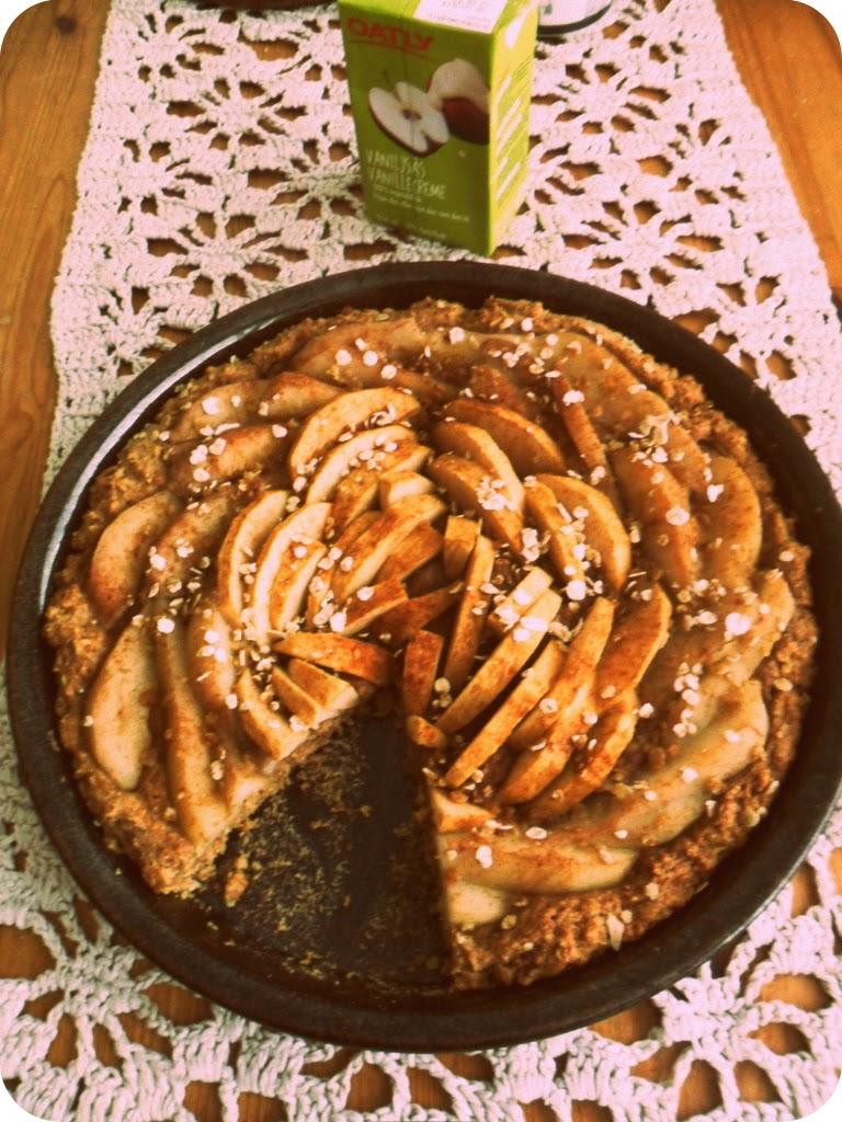 Omena-päärynäpiirakka