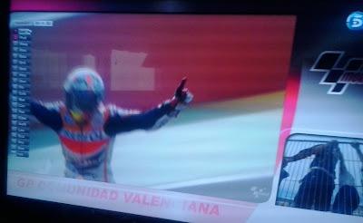 Márquez, campeón de Moto GP 2013