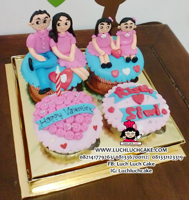 Cupcake Valentine Daerah Surabaya - Sidoarjo