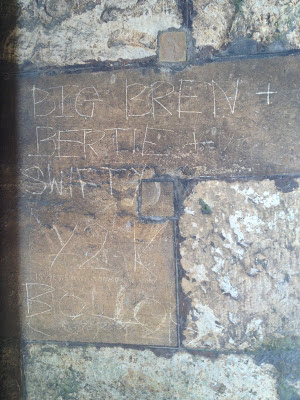 lincoln cathedral graffiti
