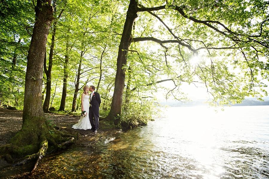 Lake Windermere wedding photographs