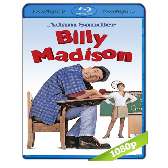 Billy Madison (1995) BRRip 1080p Audio Dual Latino/Ingles 5.1