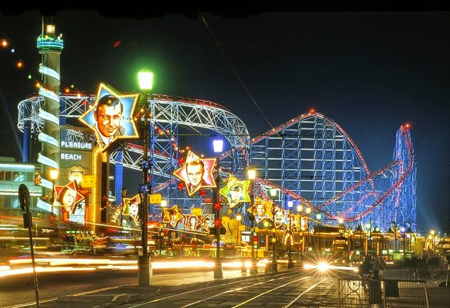 Pleasure Beach, Blackpool, England, UK