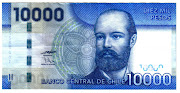 Chile. Chile S/N 1000 pesos año 2009 anverso sn pesos anverso
