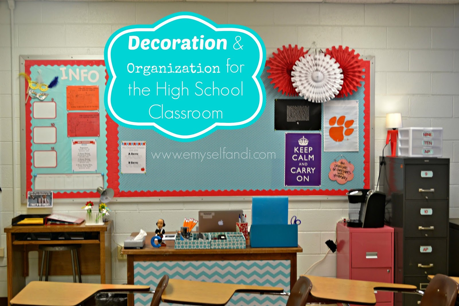 Classroom Decoration Printables For High School ~ E myself and i august