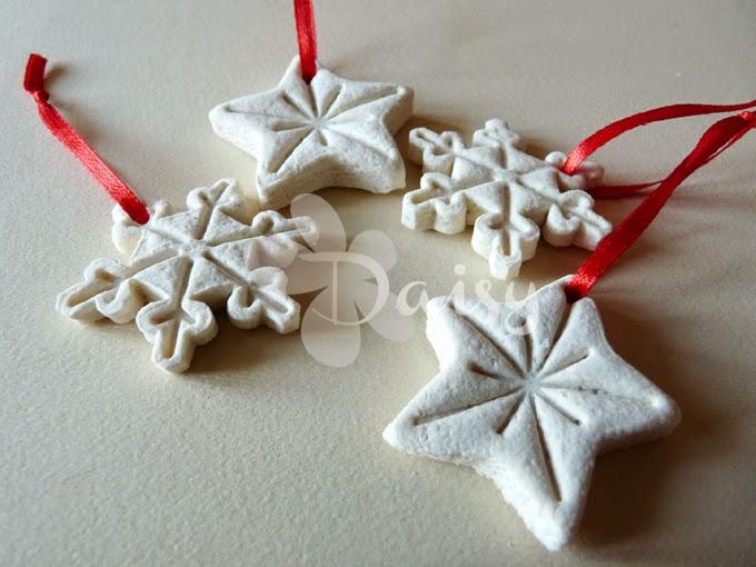 Fabuleux Daisy Handmade: Un progetto al giorno 22/24: decorazioni natalizie  OM12
