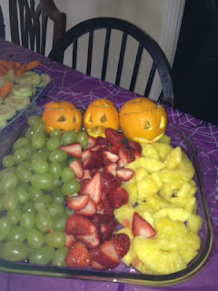 cute,fruit,oranges,jackolantern,tray