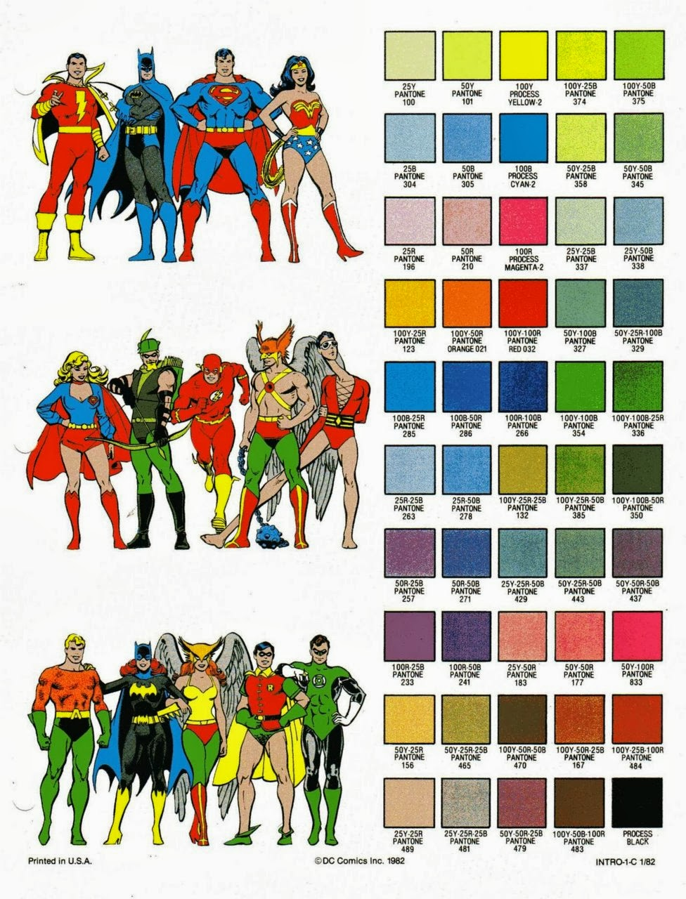 Paint with all the Colors of the Wind: Comics and Colors – The ...