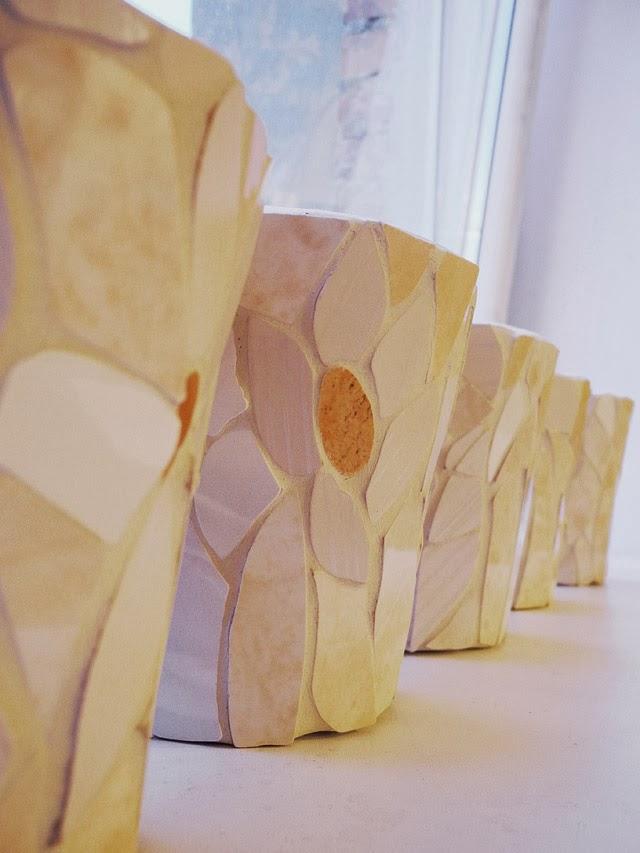 Środowe Inspiracje Magia mozaiki insprujące blogi handmade donica z mozaiką