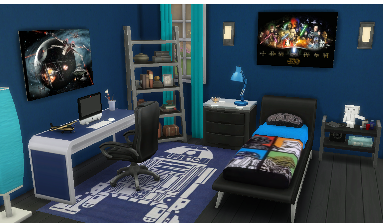 My Sims 4 Blog Boy S Mattress Recolors Star Wars Canvases