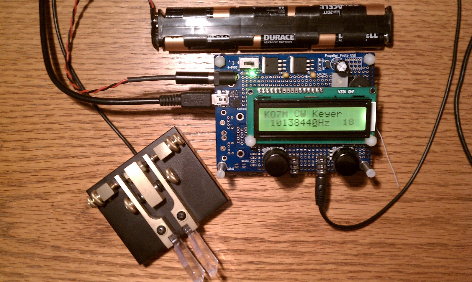Ko m ham radio keyer transmitter bugs found by