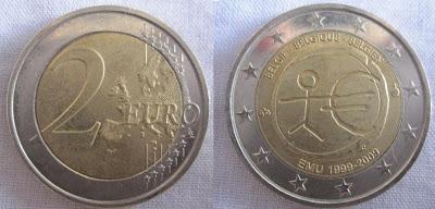 2 euro belgium emu