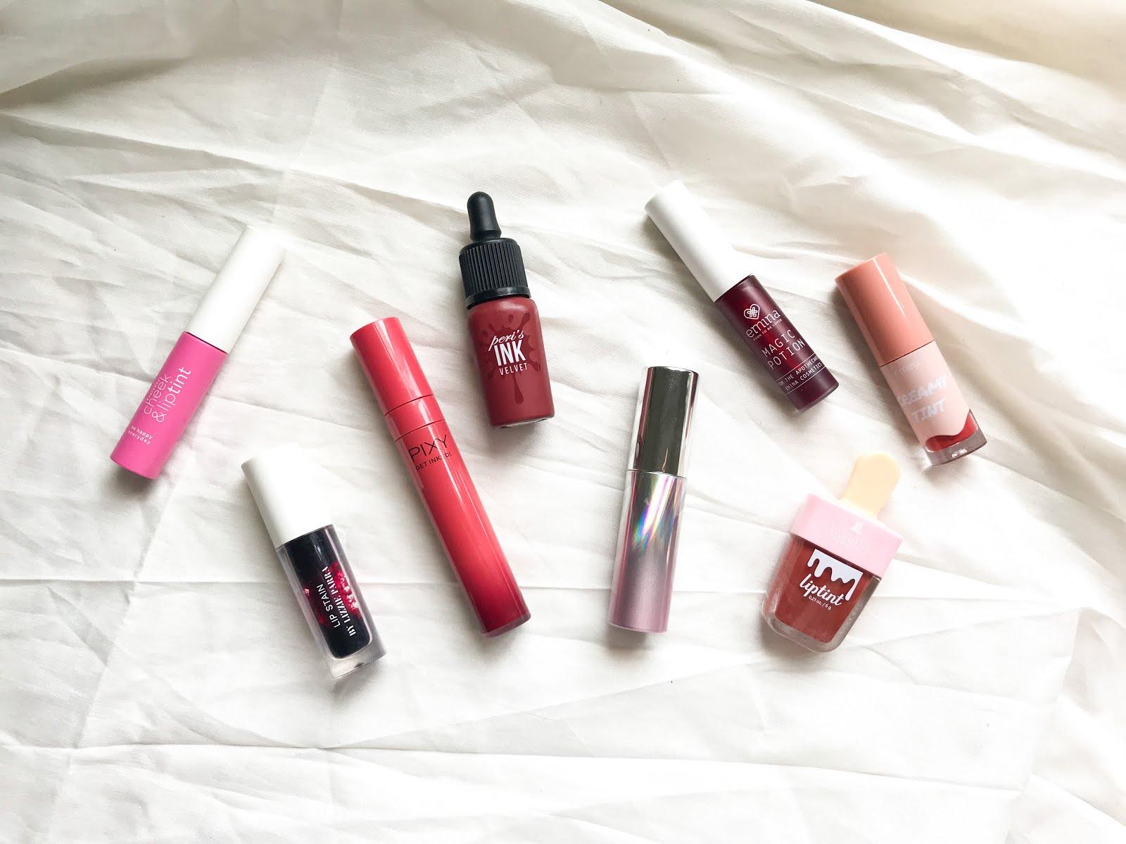 Lip Tint untuk Bibir Gelap
