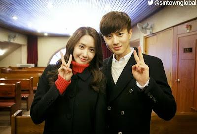 YoonA SNSD dan Suho EXO