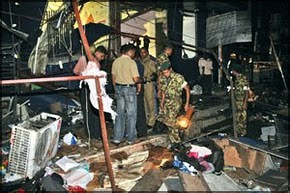 Ltte-Attack near No Limit store, Nugegoda
