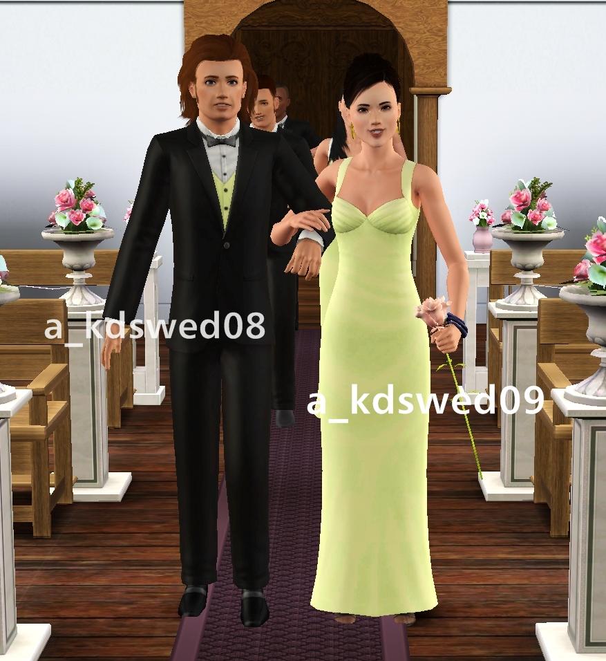 Wedding Altar In Sims 3: Kiddo's Dreams: The Wedding March