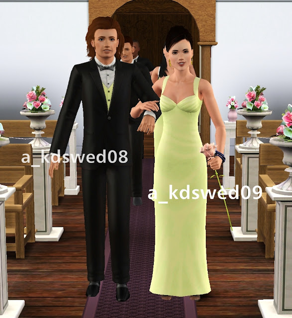 Wedding Altar In Sims 3: My Sims 3 Poses: The Wedding March By Kiddo