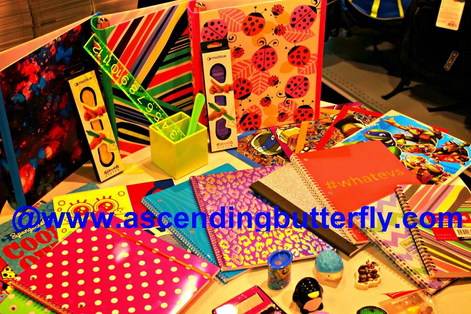 Teenage Mutant Ninja Turtles Folders? Check, #Whatevs Notebook? Check Ladybug Binders? Check!