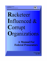 an introduction to racketeer influenced and corrupt organizations act rico Introduction throughout most of  before the racketeer influenced and corrupt organizations act (rico)  congress enacted the racketeer influenced and corrupt.