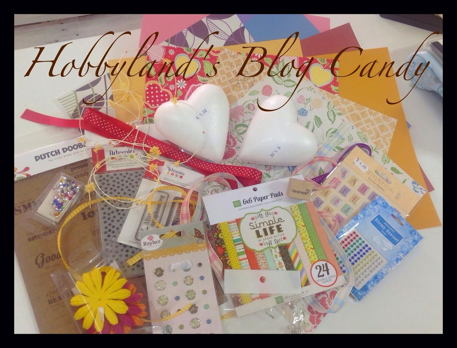Blog Candy di Hobbyland!
