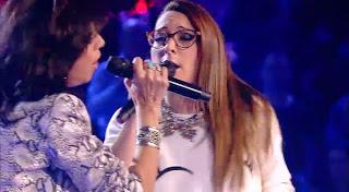Raquel y Mayte cantan La Voz 2015