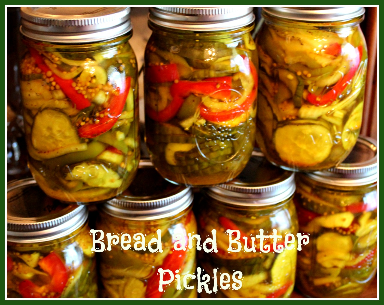 ... for bread and butter pickles and to me it s the best homemade pickle