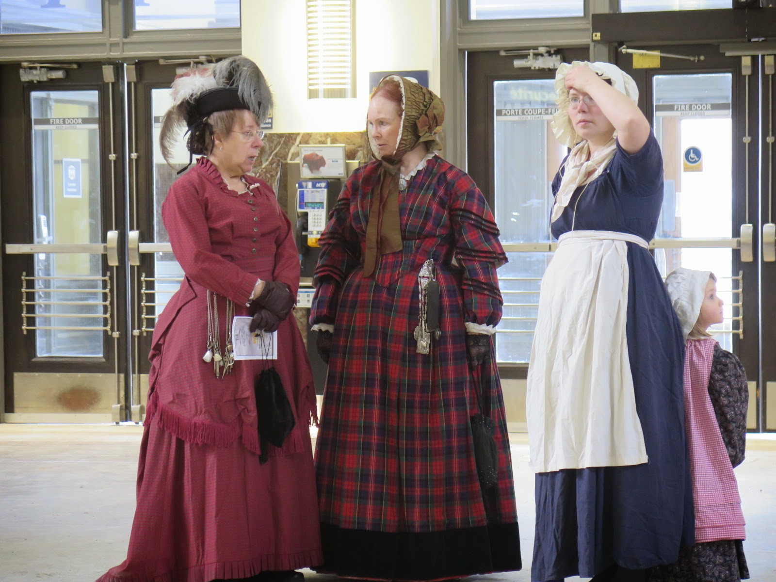 Ladies from the Manitoba Living History Society