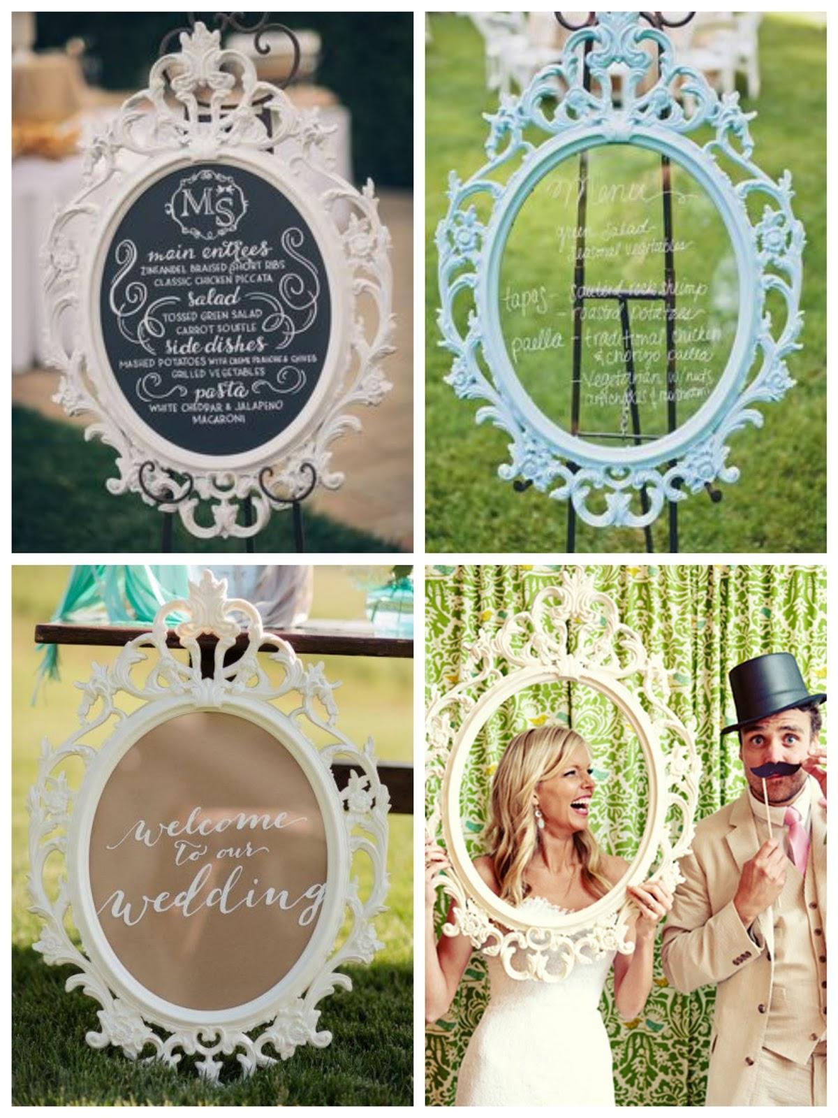 Decora tu boda con b sicos de ikea sweet bodas - Ikea marco de fotos ...