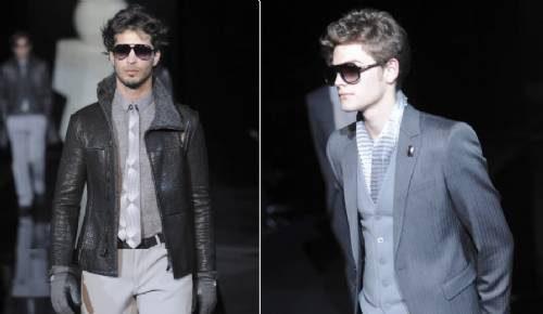 5b16f33d5d926 Modelos de óculos com lentes escuras em degradê são perfeitos para os homens  mais ligados no mundo da moda e suas tendências. Estilos clássicos, como o  ...
