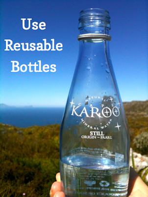 glass water bottle image karoo water