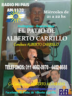"""EL PATIO DE ALBERTO CARRILLO"" Conduce Alberto Carrillo."