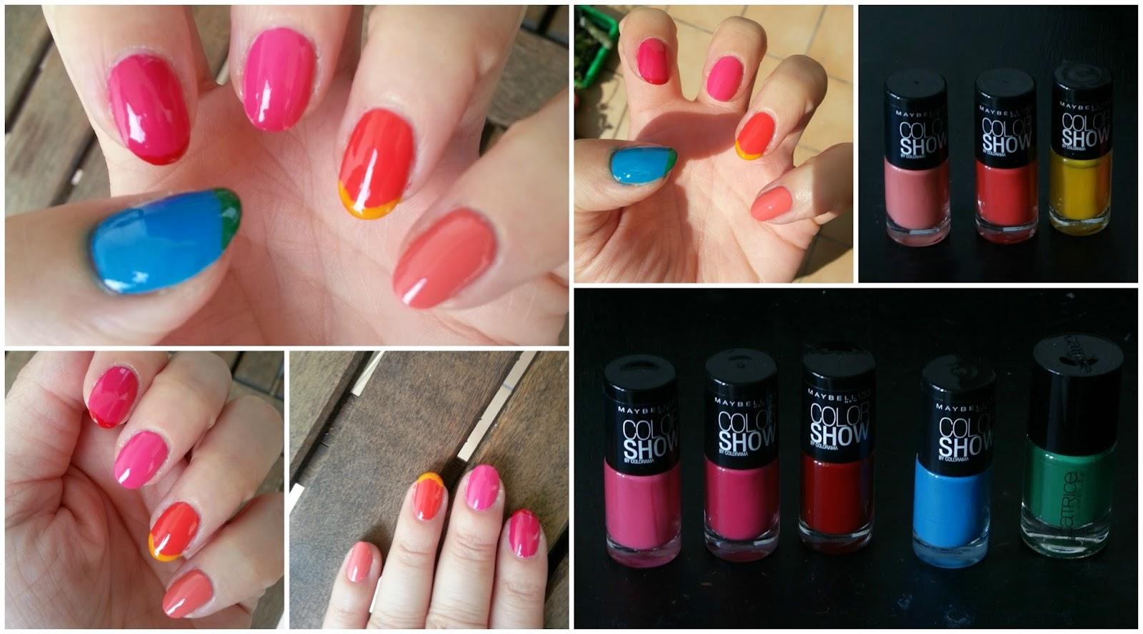 Colourful Nails