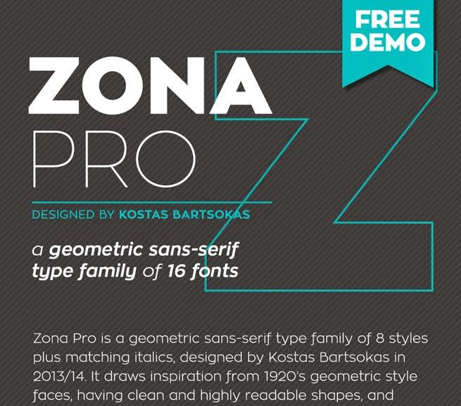 Zona Pro (Free) Type Family
