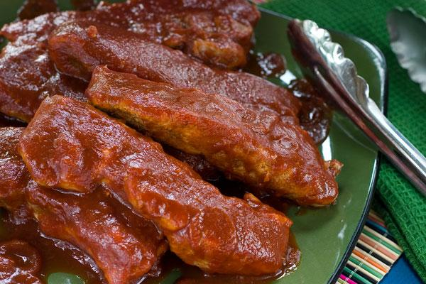 The Most Tender Country Style Honey BBQ Ribs