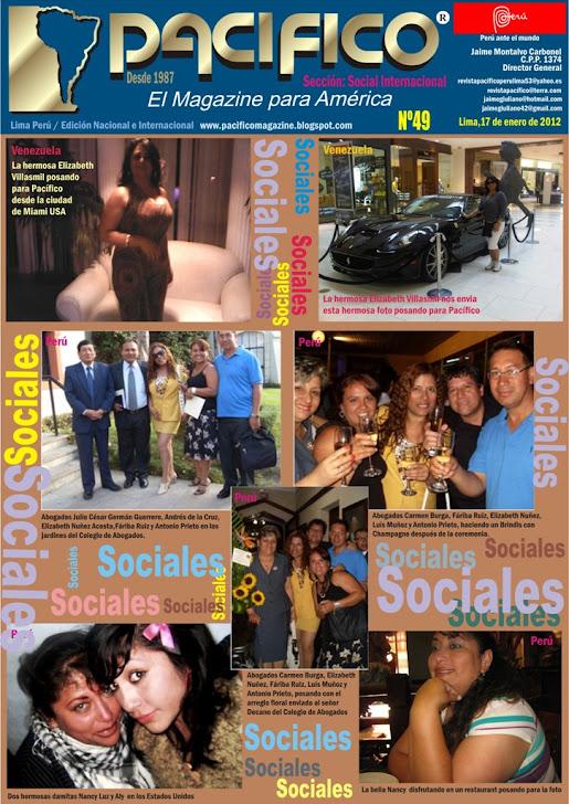 Revista Pacífico Nº 49 Social Internacional