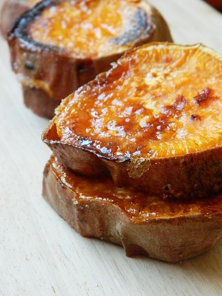 Roasted sweet Potato recipe. Geröstete Süßkartoffeln rezept.