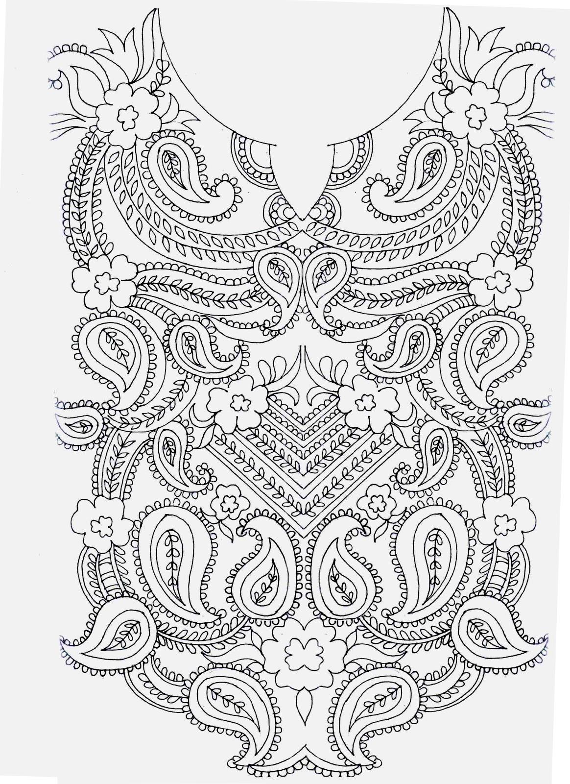 Embdesigntube embroidery sketches shared by sarika agarwal