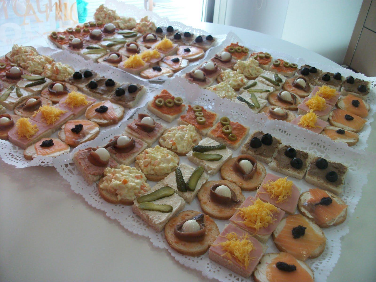 Del desv n a la cocina canap s for Canapes faciles y ricos
