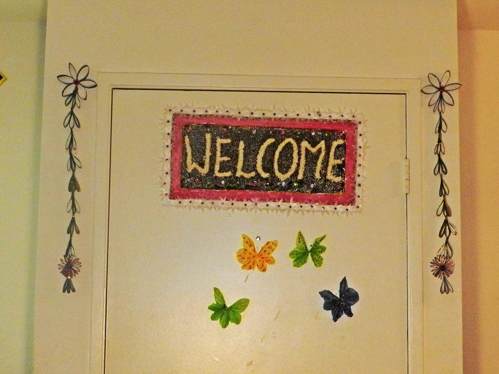 Creative DIY crafts: wall hanging