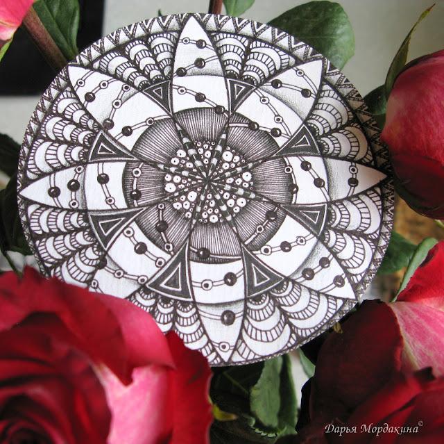 rose, роза, flower, flowers, nature, photo, фото, хобби, сад, цветок, красота, подарок, doodle #doodling, zentangle, zenart, art, рисунок, творчество, искусство, zendala