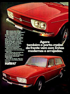 propaganda Volkswagen Variant - 1971, 1971; brazilian advertising cars in the 70s; os anos 70; história da década de 70; Brazil in the 70s; propaganda carros anos 70; Oswaldo Hernandez;.