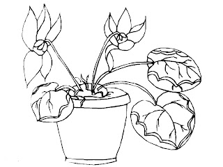 Desenho como desenhar Girassol e flor    pintar e colorir