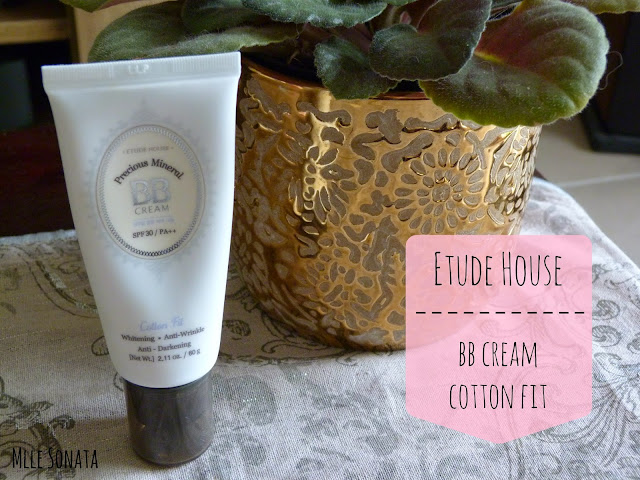 BB Cream Cotton Fit Etude House