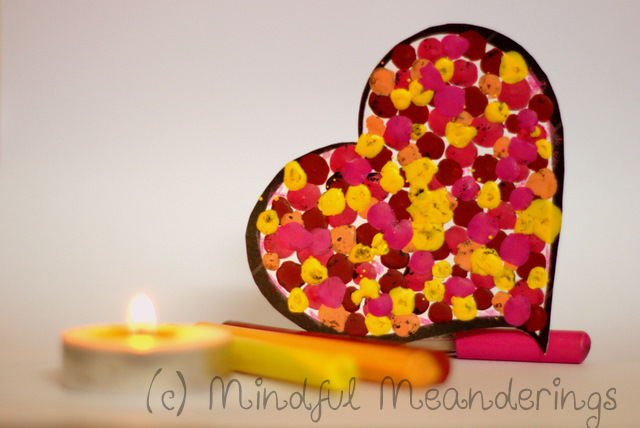 CrayonDotCraft | 3D Melted Crayon Heart Card   Collaborative HeArt Project | Valentines Day Crafts #Age5 7