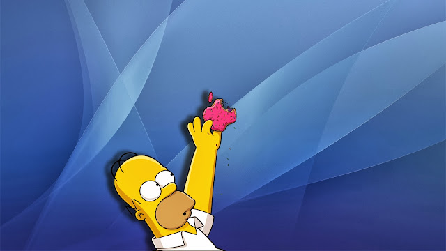Simpsons Apple Mac
