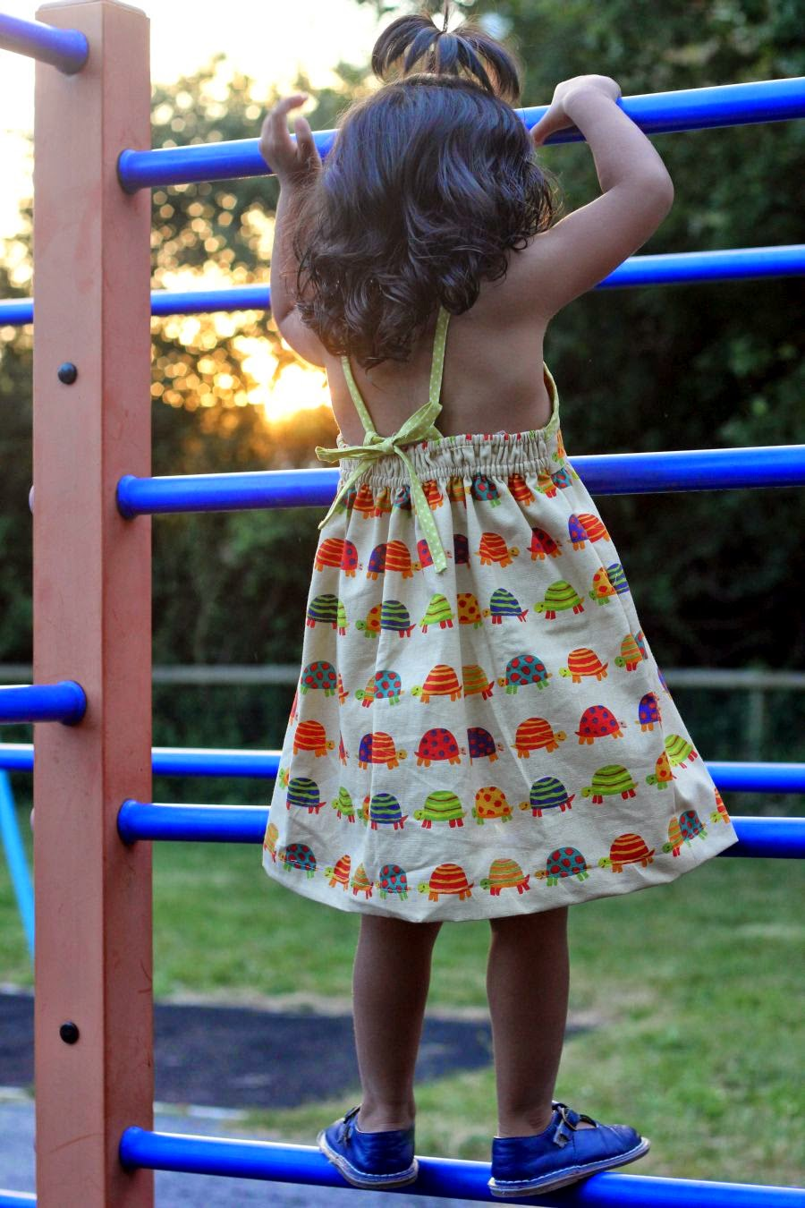 How to sew dress for girls