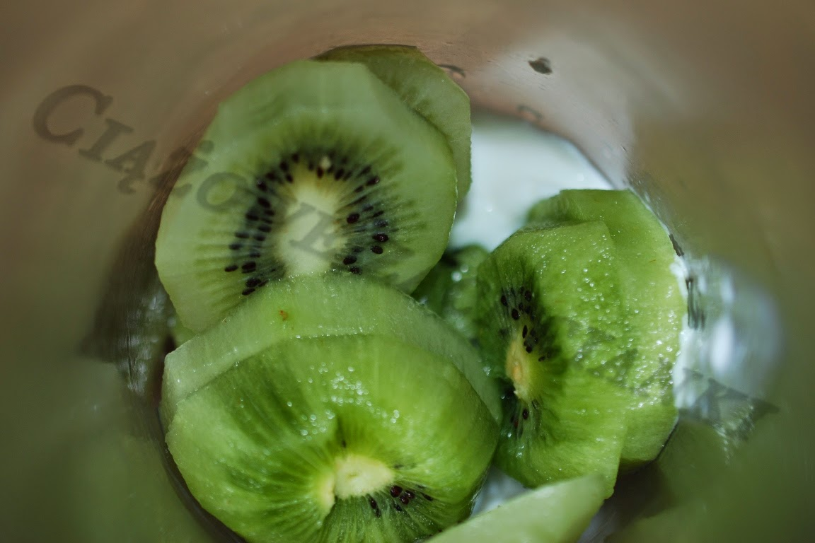 Kiwi w blenderze