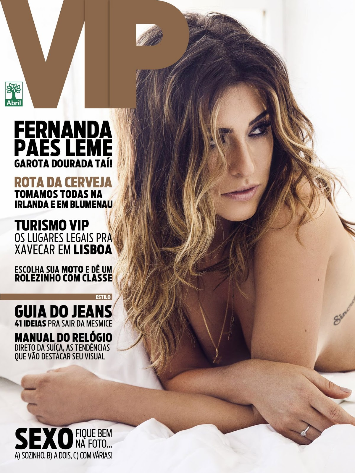 001 Download   Fernanda Paes Leme : Revista Vip   Maio 2014 (Completa)